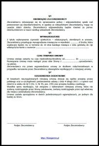 umowa z niania 2